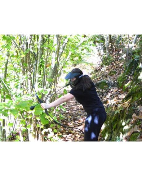 """Trueflight - Plume naturelle parabolique 5"""" Barred"""